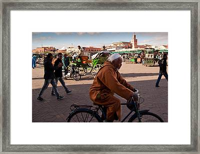 The Djemaa El Fna Framed Print by Daniel Kocian