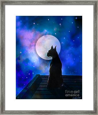 The Dock At The Edge Of The Universe Framed Print