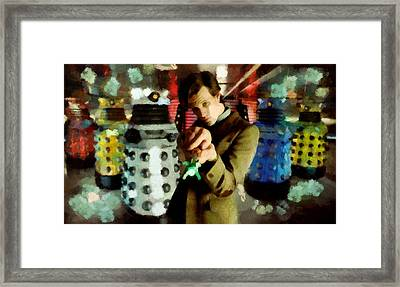 The Doctor Framed Print by Janice MacLellan