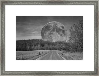 The Doctor's Light Four Of Four Framed Print by Betsy Knapp