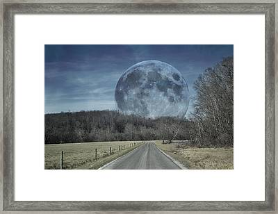 The Doctor's Light Three Of Four Framed Print by Betsy Knapp