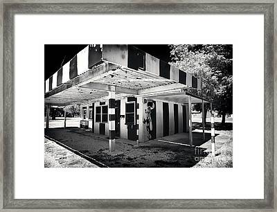 The Dog House Framed Print by John Rizzuto