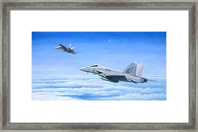 The Dogs Of War Framed Print by Pete Wenman