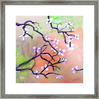 The Dogwood Framed Print by Marcello Cicchini