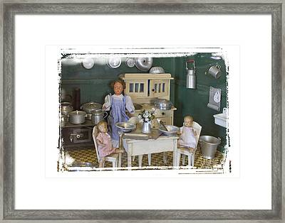 The Dollhouse From Other Times Framed Print