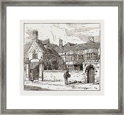 The Dolphin Inn, Heigham Framed Print