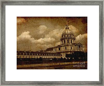The Dome Church- Paris Framed Print by Soumya Bouchachi