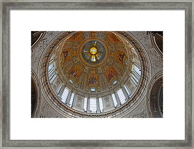 The Dome Of Berlin Framed Print by Sabine Edrissi