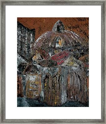 The Dome Framed Print by Oscar Penalber