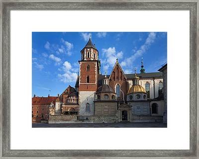 The Domes Above The Sigismund Chapel Framed Print by Panoramic Images