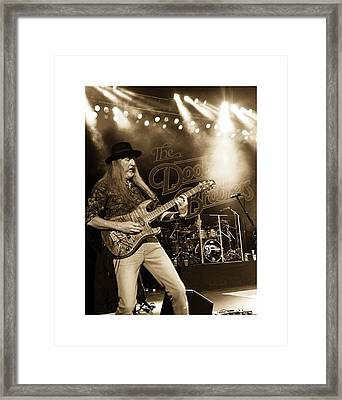 The Doobie Brothers Framed Print by Alice Gipson