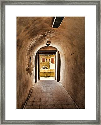 The Door 2 Framed Print by Dhouib Skander