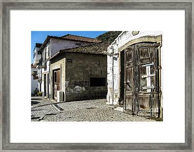Framed Print featuring the photograph The Door by Arlene Carmel