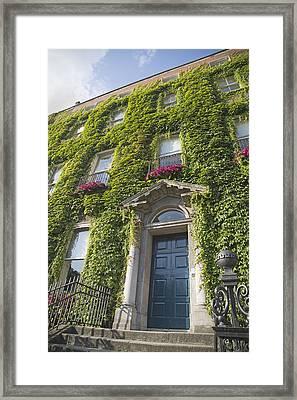 The Door Dublin Ireland Framed Print by Betsy Knapp