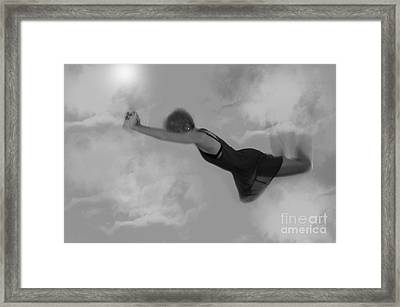 The Door In The Sky Framed Print by Andrea Aycock