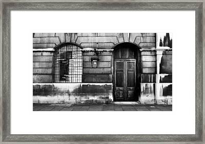 The Door Framed Print by Mark Rogan