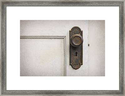 The Door Framed Print by Scott Norris