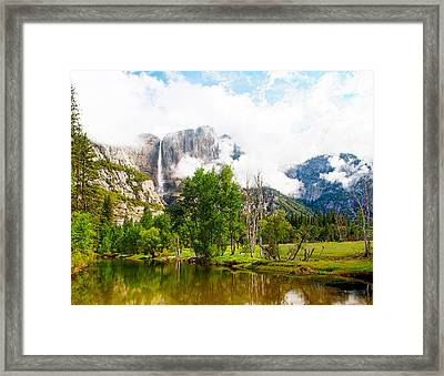 The Door To Heaven Above Yosemite National Park Framed Print