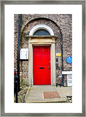The Door To James Herriot's World Framed Print