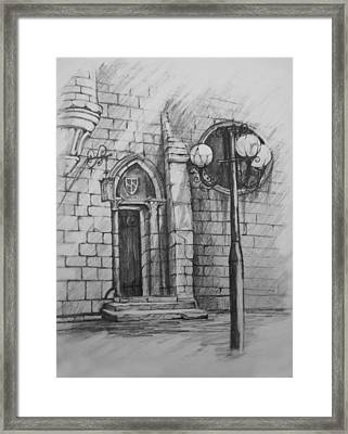 The Door To... Framed Print