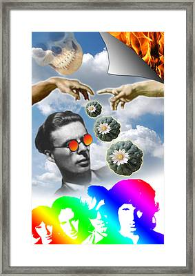The Doors Of Deception Framed Print