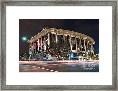 The Dorothy Chandler Pavilion Part Of The Los Angeles Music Center Framed Print by Jamie Pham