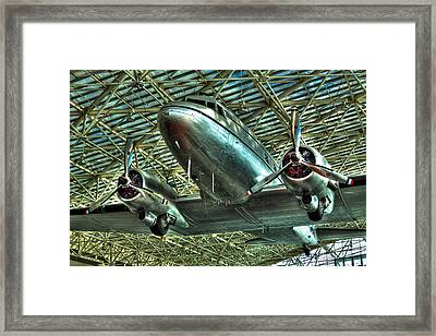 The Douglas Dc-3 Airplane Framed Print by David Patterson