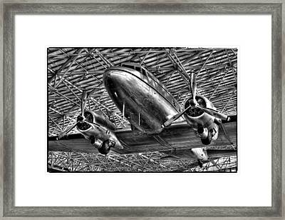 The Douglas Dc-3 Airplane II Framed Print by David Patterson