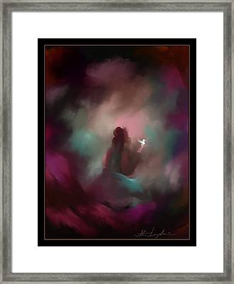 I Have Lost Her-  I Miss You Framed Print