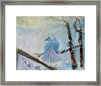 The Dove Framed Print by Susan Hanlon