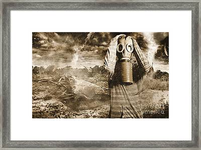 The Downfall Framed Print by Jorgo Photography - Wall Art Gallery