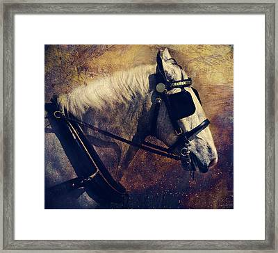 The Draft Framed Print by Lyndsey Warren