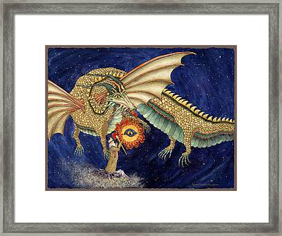 The Dragon King Framed Print