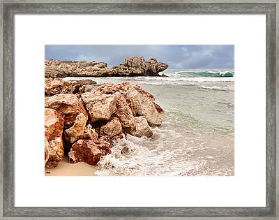 Framed Print featuring the photograph The Dragon Of Labadee by Mitchell R Grosky
