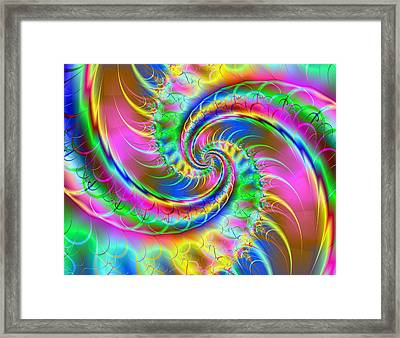 The Dragon's Tail Framed Print by Ester  Rogers