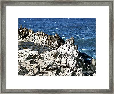 The Dragons Teeth I Framed Print