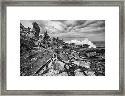 The Dragons Teeth Framed Print by Jamie Pham