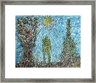 The Drama Of The Earth Framed Print