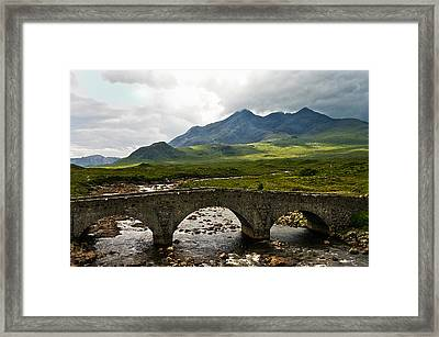 The Dramatic Isle Of Skye Framed Print by Jacqi Elmslie