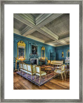 The Drawing Room Framed Print by Ian Mitchell