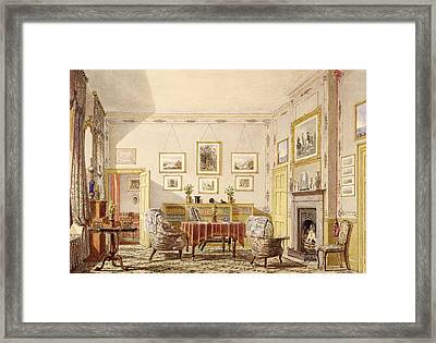The Drawing Room, The Close Framed Print