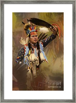 Pow Wow The Dream Framed Print by Bob Christopher