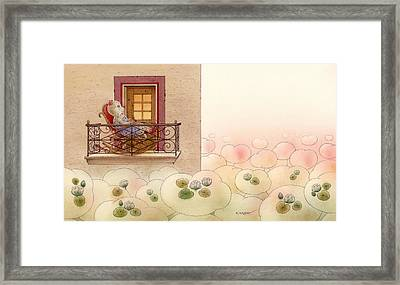 The Dream Cat 09 Framed Print by Kestutis Kasparavicius