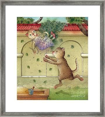 The Dream Cat 16 Framed Print by Kestutis Kasparavicius