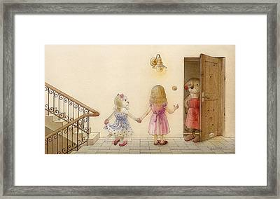 The Dream Cat 18 Framed Print by Kestutis Kasparavicius