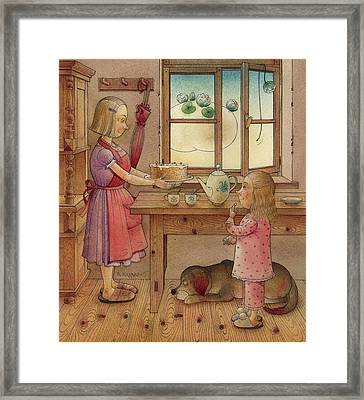 The Dream Cat 27 Framed Print by Kestutis Kasparavicius