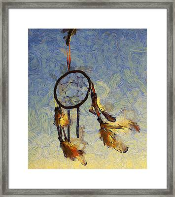 The Dream Catcher Framed Print by Shannon Story