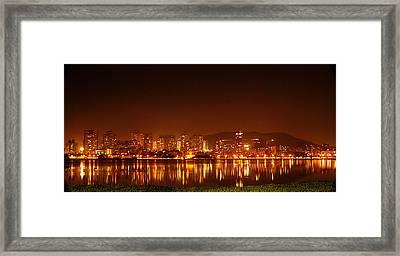 The Dream City - Mumbai Framed Print