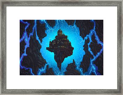 The Dream Fissure Framed Print