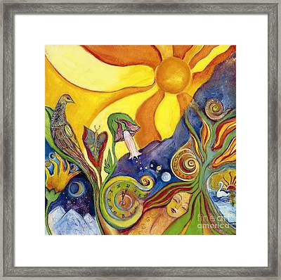 The Dream Framed Print by Garden Of Delights